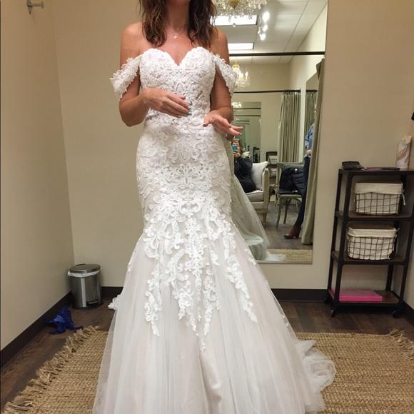 Stunning Mermaid Wedding Dress Size 6